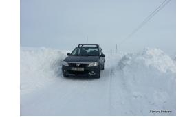 Iarna in satul Negritesti