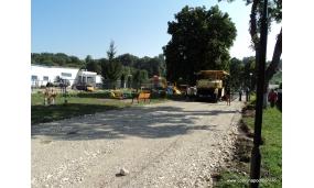 Asfaltare alee acces gradinita 9.08.2013
